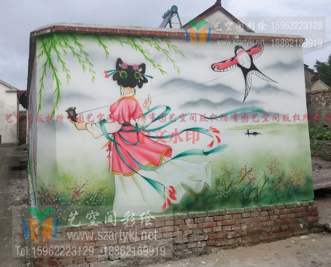 吴中外墙彩绘