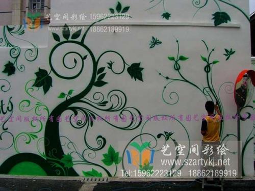 苏州婚庆广场彩绘